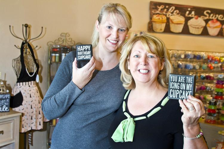 Theresa Crawford, left, and Sue Nevett are expanding their party business in Powell.