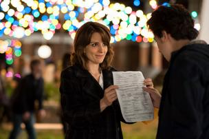 Tina Fey stars as Portia Nathan and Nat Wolff stars as Jeremiah Balakian in Paul Weitz's Admission.
