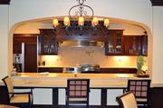Kansas Masonic Home's therapy center includes a spacious kitchen and dining area.