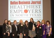 Texas Health Resources took top honors in the large company category.