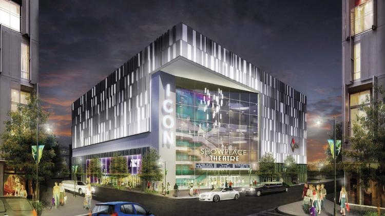The 16-screen, 2,500-seat Showplace Icon theater planned for the expansion of Forest City Washington's The Yards. How to get that project going was discussed during a D.C. Council hearing Wednesday.