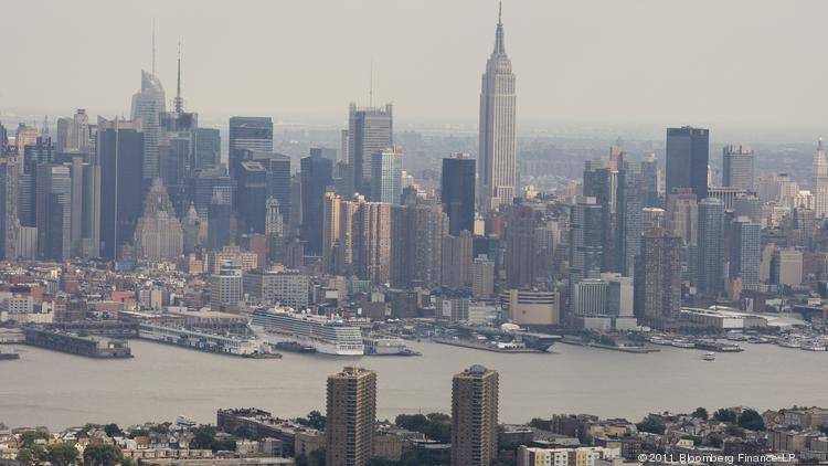 The Manhattan skyline has changed dramatically during Mayor Bloomberg's decade-plus in office.