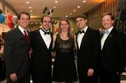 Leadership Arlington held its eighth annual Monte Carlo Night at Reagan National Airport on March 9. From left, Andrew Shane of Accenture, Chip McArthur of Argus Information, Kristen Wolla of Arlington Public Schools, Scott Frantz of Accenture and James Bierbower of Hinge Marketing.