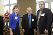 Teva Pharmeceuticals' Jane Kartheiser, Larry Downey and John Hassler.