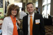 NorthPoint Development's Tammy Tappana and Brett Grady.