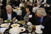 The Teva Pharmaceuticals table includes Cheryl Flood and Larry Downey (right) at the Kansas City Business Journal's 2013 Best Places to Work awards luncheon.