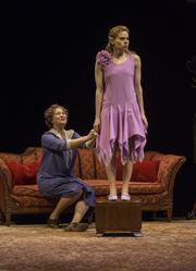 """Cherry Jones and Celia Keenan-Bolger play mother and daughter in """"The Glass Menagerie"""" at the Booth Theatre in New York. The revival is staged by John Tiffany."""