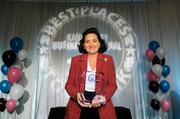 Roshann Parris, CEO, of Parris Communicaitons - First Place, Small Companies, 2013 Best Places to Work
