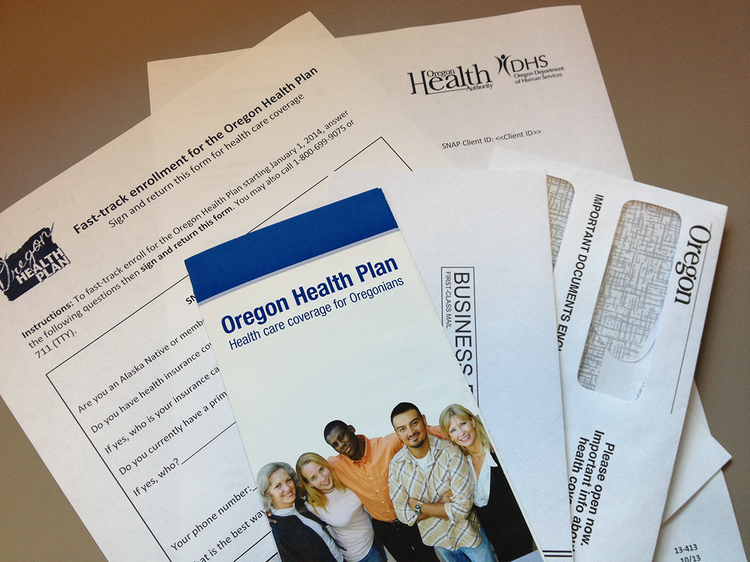The Oregon Health Plan is fast tracking new enrollees.