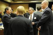 Eight Sacramento-area developers and developments won honors Friday at a breakfast event that focused as much on the future as on the past year. Here, people network at the event.