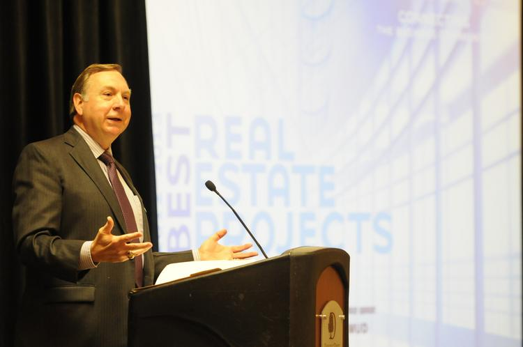 Delivering the keynote address at the Sacramento Business Journal's annual Best Real Estate Projects event, Sacramento city manager John Shirey described the proposed downtown arena as a venture that promises to revolutionize downtown -- and perhaps redefine the region.