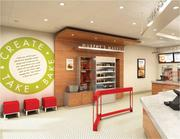 A rendering of the new-look Papa Murphy's store concept.