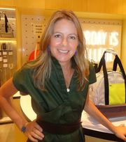 Kyle Andrew, senior vice president and brand director of Kate Spade Saturday, came to Houston from New York for the launch.