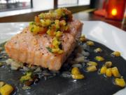 The nine meals Ed Murrieta ate at nine restaurants in nine days all had one thing in common: They showcased the passion and respect Sacramento chefs have for locally grown food. This is salmon with huitlacoche sauce at Mayahuel.