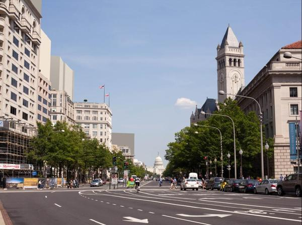 Pennsylvania Avenue ranked fifth among Jones Lang LaSalle's list of most expensive office corridors in North America.