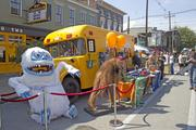 Why Louisville had a mobile, popup store during the NuLu Festival. It brought several of its figurines with it.