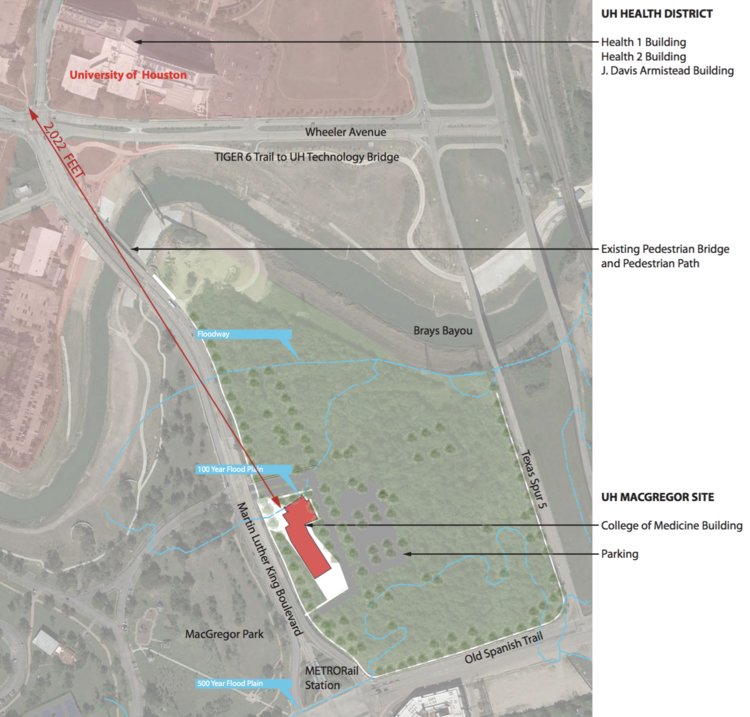 University of Houston College of Medicine building site selected
