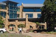 Fidelity's Westlake campus is tucked away in a 337-acre wooded area.
