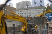 Touchstone's 11-story project, called Hill7, will have about 300,000 square feet of office space.
