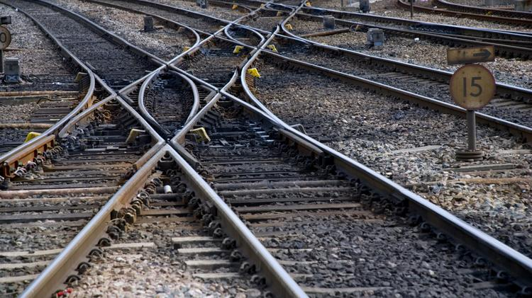 File photo of a train line crossing. The Alamo Junction Rail Park has officially opened in San Antonio.