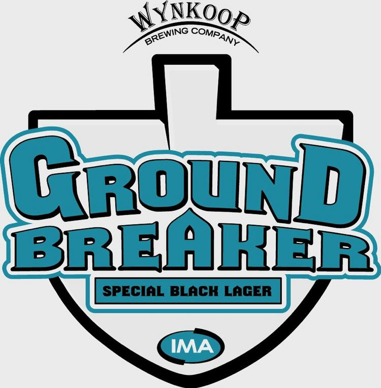 Label of IMA Ground Breaker Special Black Lager.