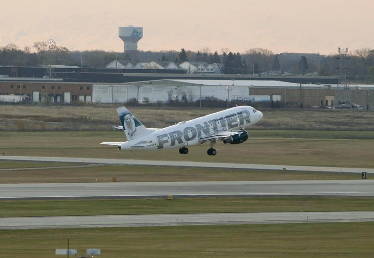 Frontier Airlines was once the market share leader at General Mitchell International Airport.
