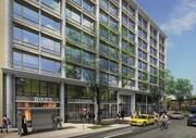 A view of the Bernstein Cos.' south building, planned for Southwest D.C. There will be some neighborhood serving retail.