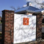 CommunityOne closes in on TARP exit as federal government unloads 1.1M shares