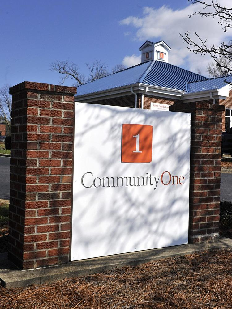 The U.S. Treasury Department is selling the 1.1 million shares of CommunityOne Bancorp it owns following its investment as part of the federal bailout program known as TARP, or the Troubled Asset Relief Program.