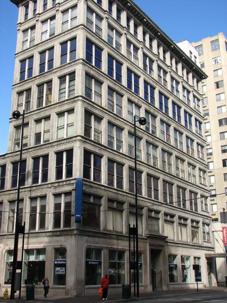 Nat Comisar Group with Sibcy Cline has the building at 106 W. Seventh St. listed for $1 million. It's one of three buildings Park Property Group plans to convert into 75 apartments with retail space on the ground floor.