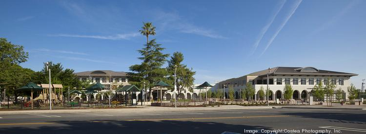 The Civic Center complex includes a new 2.5 acre public park with new trees, barbecues and picnic tables.