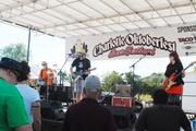 Chapel Hill rock band Southern Culture on the Skids entertains the crowd.