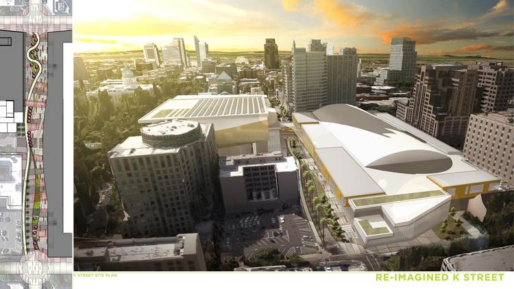 Architectural design firm Populous delivered preliminary sketches for a possible expansion of the Sacramento Convention Center that adds more meeting space in the tight footprint of downtown.Preliminary plans include pedestrian bridges, a ballroom overlooking Capitol Park and much more meeting space.