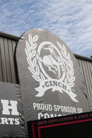 Cinch is one of many sponsors of the event.