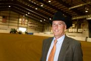 Dr. Scott Myers oversees the event as executive director of the Ohio Quarter Horse Congress.