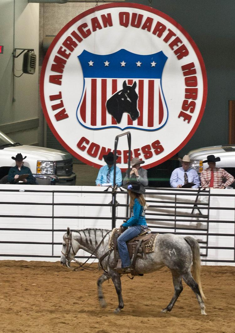 The All American Quarter Horse Congress will run from Oct. 4-27 in Columbus.