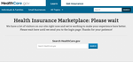 High volumes clog systems as insurance marketplaces launch