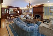 Another living room at 211 Commonwealth Ave. in Boston's Back Bay.