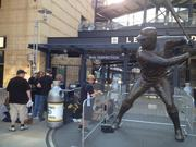 The scene outside PNC Park around 4 p.m. Tuesday.