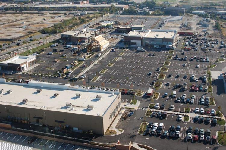 Shops at Canton Crossing are starting to open. The project is anchored by Target and Harris Teeter.