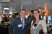Jeremy Angus, president and CEO of The Prevention Network, and Erin Downey.