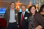 From left: Jason Milnes, enterprise account executive for the Keystone region, Comcast Business; Skip Irwin, enterprise account executive for the Keystone region, Comcast Business; and Kelly Labasik, account manager at IntegraONE.
