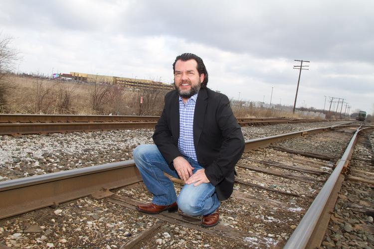 Ohio State's Jesus Lara led an effort that identified a rails-to-trails project on the west side as a key driver of development.