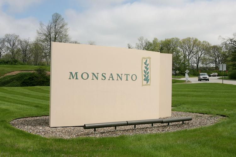 Monsanto Co., headquartered in the suburbs of St. Louis, is the largest donor to the group opposing I-522, the initiative on Washington state's ballot that would require the labeling of genetically modified foods.