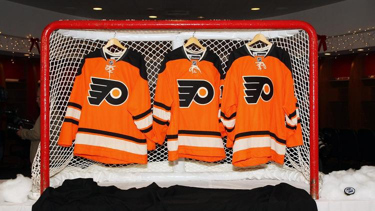 The Flyers are honoring one of their own Saturday