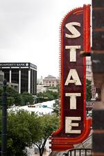 Stateside Theatre neon sign to blaze brightly tonight