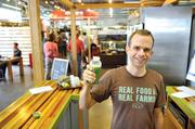 On the Entrepreneurs section: Scott Harris, a former banker with a now-booming raw juice bar. Harris credits Viva Raw's move to the 7th Street Public Market for much of his company's success.