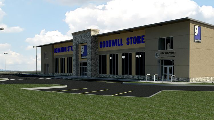 Goodwill Industries of San Antonio's new store in North San Antonio at 3730 North Loop 1604 East near the intersection of Bulverde Road. The nonprofit's government contracting division landed new work that added 130 jobs to its local payroll.