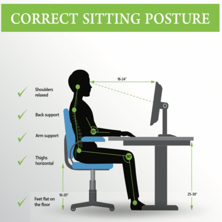 Terrific Ergonomics At Work Your Parents Were Right About Making You Ibusinesslaw Wood Chair Design Ideas Ibusinesslaworg