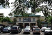 The Howard Hughes Corp. plans to build a 400-foot market-priced condominium tower with about 325 units and commercial space on this corner of Auahi and Kamakee streets in Kakaako. Pier 1 Imports is getting ready to move to a new space in the Ward Village Shops along Auahi Street.
